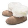 donja-hd-schapenvacht-pantoffel-bruin-witte-rand-hoog