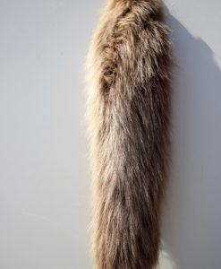 vossenstaart-sleutelhanger-bruin-