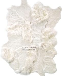 uniek-schapenvacht-tapijt-kleed-shaggy-design -© donja