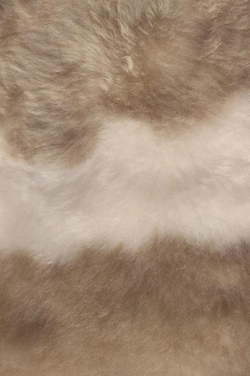 donja-hd-lamsvacht-V1-40-taupe/ offwhite melange-detail