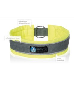 anny-x- halsband-hond-protect-fluor-geel-grijs