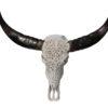 Waterbuffel-gegraveerd-wit-zwarte-hoorns-