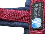 annyx-hondenlijn-leiband-limited edition blauw-bordeaux