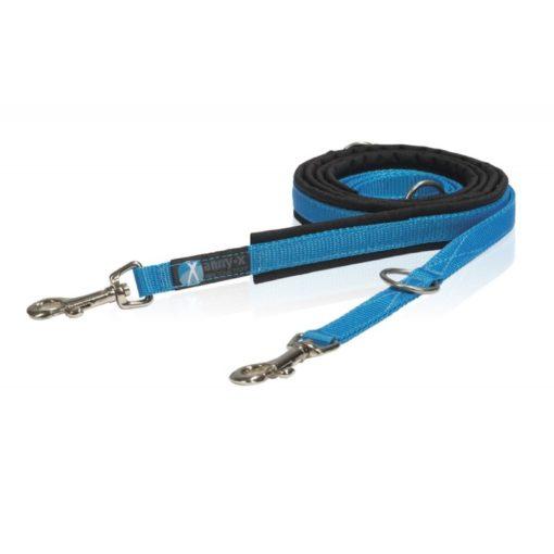 annyx-hondenriem-leiband-zwart-blauw-verstelbaar-op-lengte-