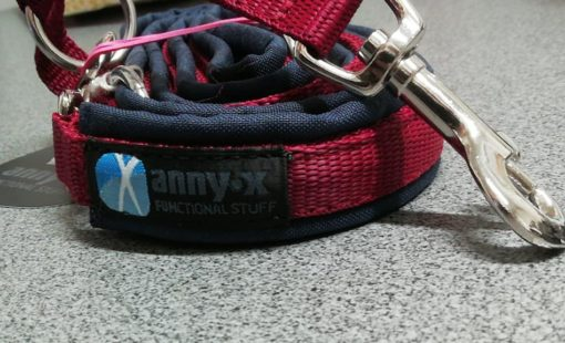 annyx-limited-edition--navy blauw-bordeau-hondenriem-leiban