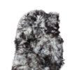 ©-Donja-HD-schapenvacht kleed-tapijt-grijs-.donkere-puntjes-