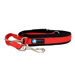 annyx-hondenlijn-honden-riem-verstelbaar-zwart-rood