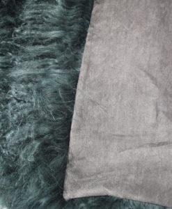 tibet-kussen-stoelkussen-40-40--chairpad met voering aan de achterzijde-groen-