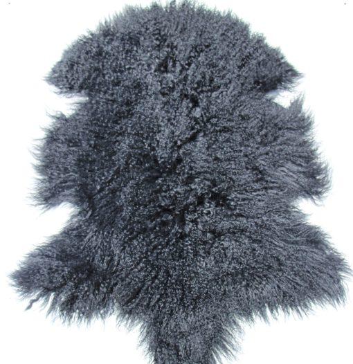 tibet-schapenvacht-zwart-zachte-wol-