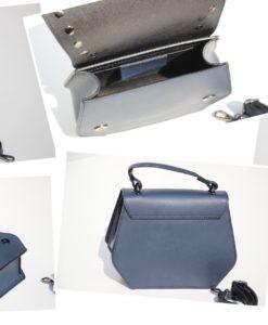 diva's bag-ausilia-blauw-leder-tasje-