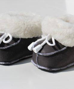 baby-slofjes-schapenvacht-taupe
